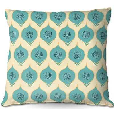 Petals Throw Pillow Size: 16 H x 16 W x 4 D