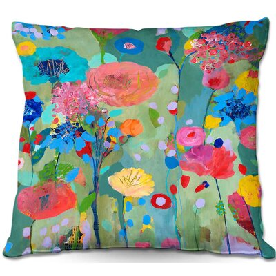 Dreamscape Throw Pillow Size: 16 H x 16 W x 4 D