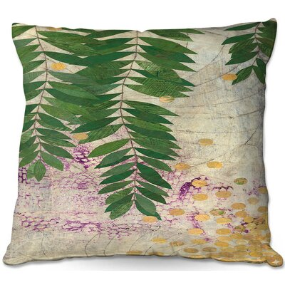 Paper Mosaic Studio Willow Throw Pillow Size: 22 H x 22 W x 5 D