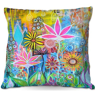 Robin Mead Sundance Throw Pillow Size: 18 H x 18 W x 5 D