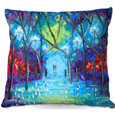 Contemporary Zipper Throw Pillow Size: 16 H x 16 W x 4 D