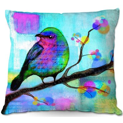 Robin Mead Unchained Throw Pillow Size: 18 H x 18 W x 5 D