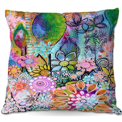 Robin Mead Into The Wild Throw Pillow Size: 22 H x 22 W x 5 D