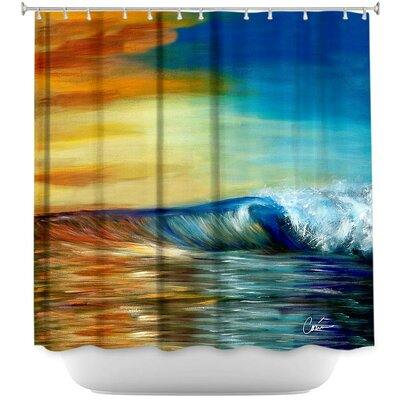 Maui Wave II Shower Curtain