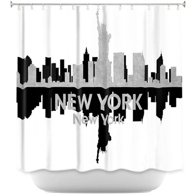 City IV New York Shower Curtain