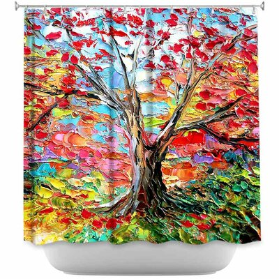 Story of the Tree 59 Shower Curtain