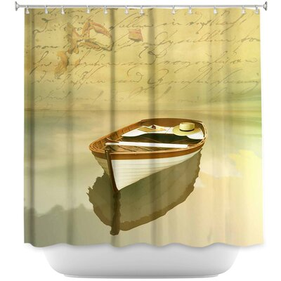Memories I Boat Shower Curtain