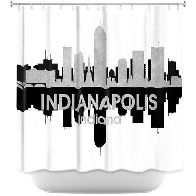 City IV Indianapolis Indiana Shower Curtain