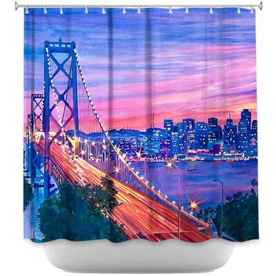 San Francisco Nights Shower Curtain
