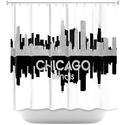 City IV Chicago Illinois Shower Curtain
