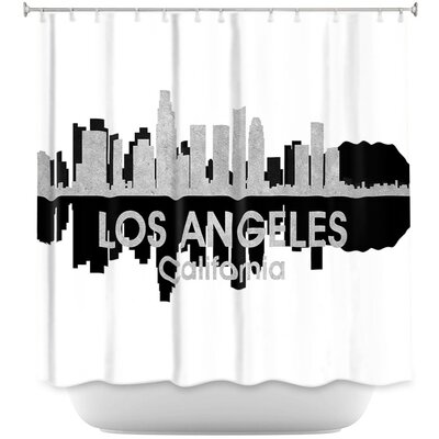 City IV Los Angeles California Shower Curtain