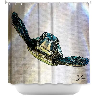 Sea Turtle I Shower Curtain