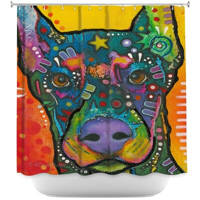 Doberman Dog 17 Shower Curtain