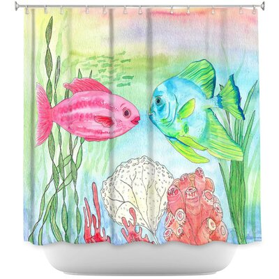 Buck and Wanda Shower Curtain