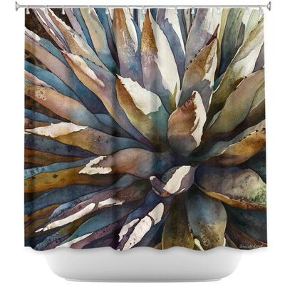 Sunstruck Yucca Plant Shower Curtain