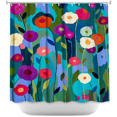 Good Morning Sunshine Flowers Shower Curtain