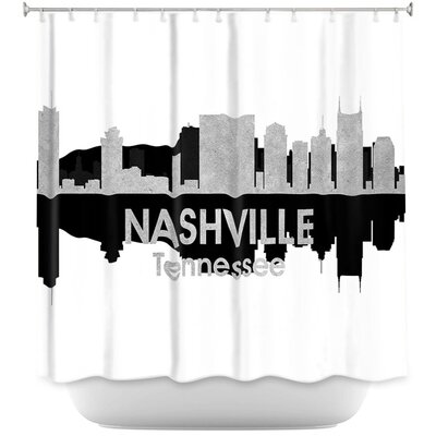 City IV Nashville Tennessee Shower Curtain