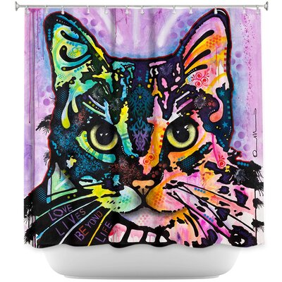 Maya Cat Shower Curtain