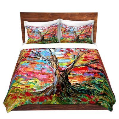 Story of the Tree 59 Duvet Set Size: Queen