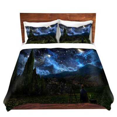 Starry Night Duvet Set Size: Queen