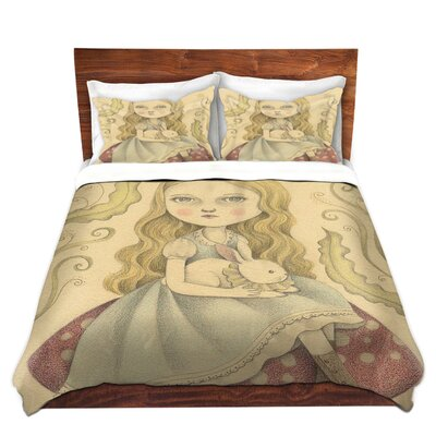 Alice Contemplating Duvet Set Size: Twin