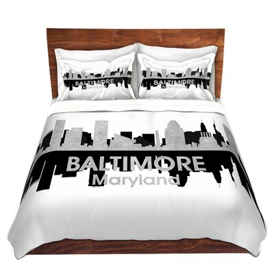 Baltimore Maryland Duvet Set Size: Twin