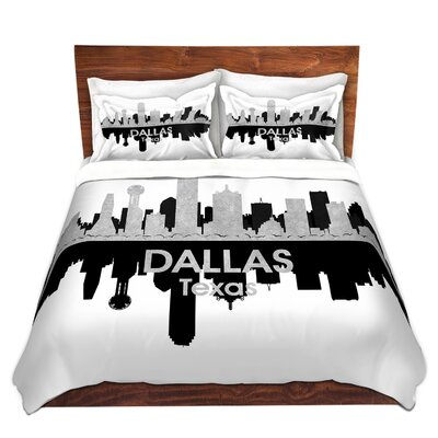 Dallas Texas Duvet Set Size: Twin