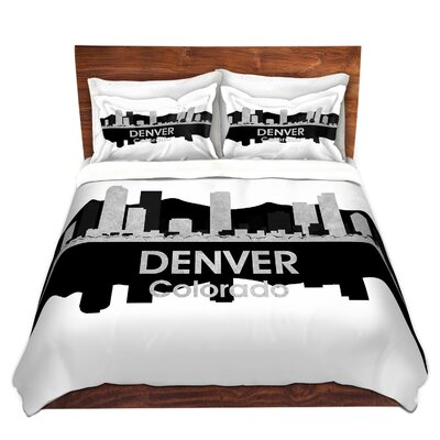 Denver Colorado Duvet Set Size: Queen