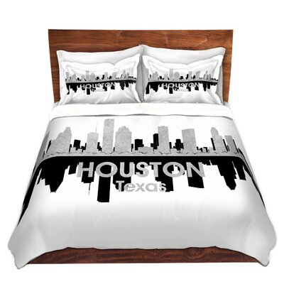 Houston Texas Duvet Set Size: Twin