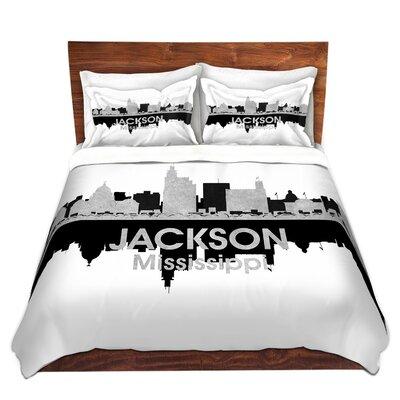 Jackson Mississippi Duvet Set Size: King