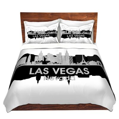 City IV Las Vegas Nevada Duvet Set Size: Queen