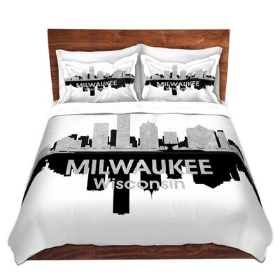 Milwaukee Wisconsin Duvet Set Size: King