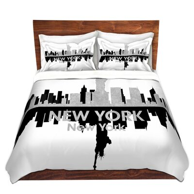 New York Duvet Set Size: Queen