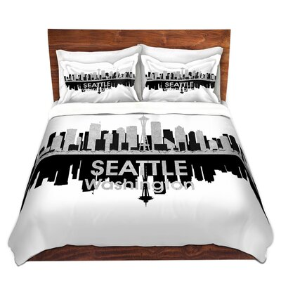 Seattle Washington Duvet Set Size: Twin