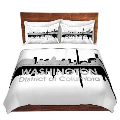 City IV Washington DC Duvet Set Size: Twin