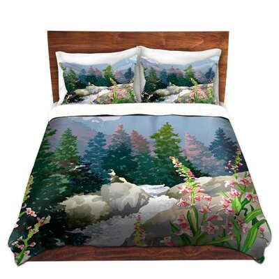 Mountain Stream Duvet Set Size: King