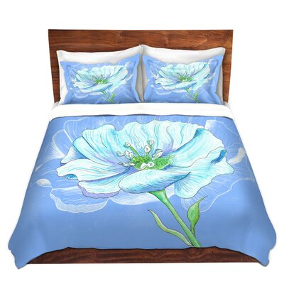 Flower Duvet Set Size: King