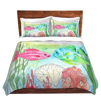 Fishs Duvet Set Size: Twin