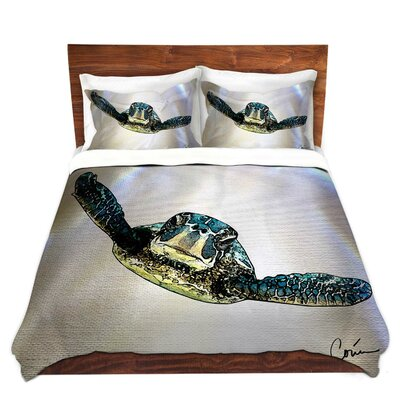 Turtle Duvet Set Size: King