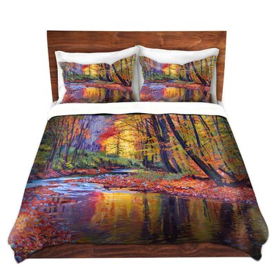 Forest Fall Duvet Set Size: Twin