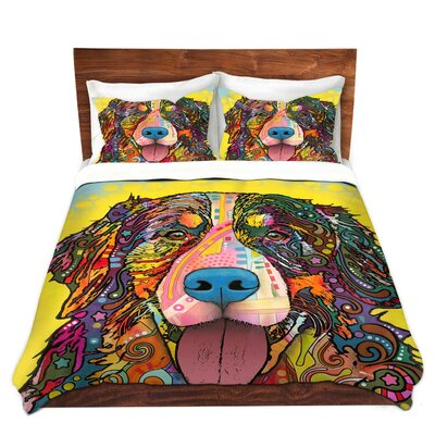 Bernese Mountain Duvet Set Size: Twin