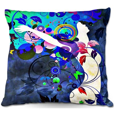 Wondrous Night Throw Pillow Size: 22 H x 22 W x 5 D