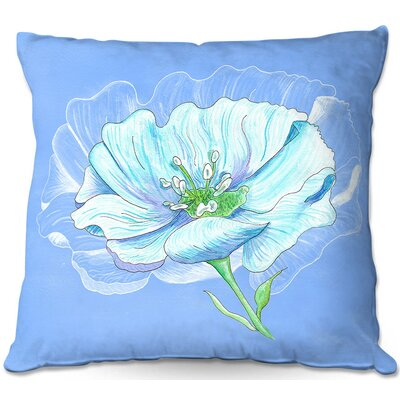 Floral Throw Pillow Size: 16 H x 16 W x 4 D
