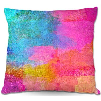 Zipper Throw Pillow Size: 16 H x 16 W x 4 D
