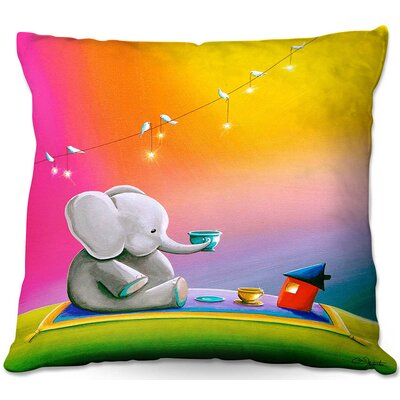 Celia Throw Pillow Size: 22 H x 22 W x 5 D
