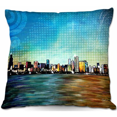 Graphic Print Throw Pillow Size: 16 H x 16 W x 4 D