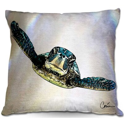 Zipper Square Throw Pillow Size: 16 H x 16 W x 4 D