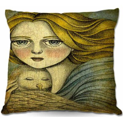 The Guardian Throw Pillow Size: 22 H x 22 W x 5 D
