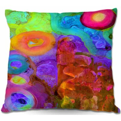 Square Throw Pillow Size: 16 H x 16 W x 4 D
