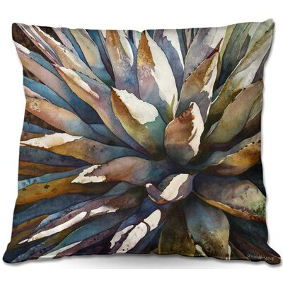 Sunstruck Yucca Plant Throw Pillow Size: 20 H x 20 W x 5 D